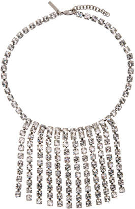 Christopher Kane Silver Cup Chain Short Choker