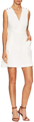 Rachel Roy Grommet V-Neck Dress