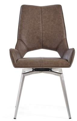 Global Furniture USA Global Furniture Bucket seat Style Brown Dining Chair