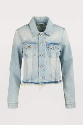 Off-White Off White Cropped denim jacket