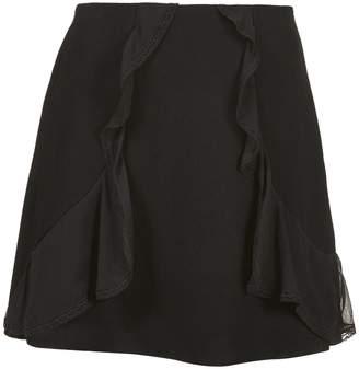 See by Chloe Ruffled Mini Skirt