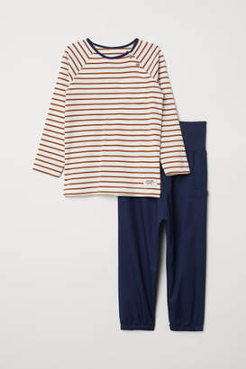 H&M Top and Pants - Blue