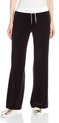 Juicy Couture Black Label Women's FT Velour Pant $55.23 thestylecure.com