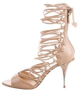 Isa Tapia Ole Cage Sandals