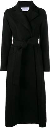 Harris Wharf London long belted coat