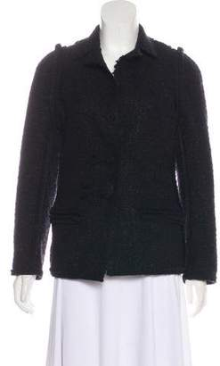Lanvin Bouclé Button-Up Jacket