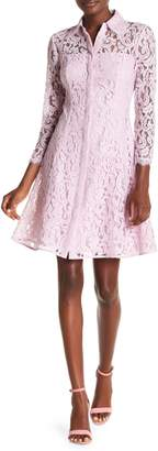 NANETTE nanette lepore Del Josephine 3/4 Sleeve Lace Dress