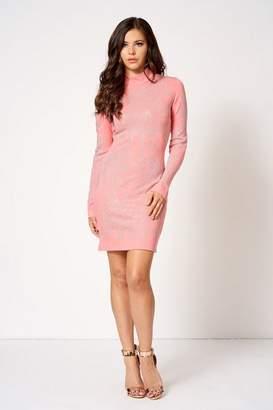 Club L **Embellished Mini Bodycon Dress