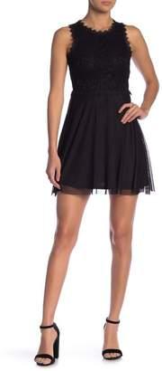 Jump Sleeveless Lace Dress