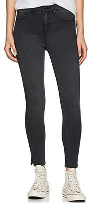 Rag & Bone Women's Ranti High-Rise Skinny Jeans - Gray