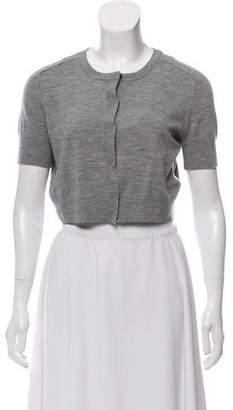 Akris Punto Wool-Blend Button-Up Shrug