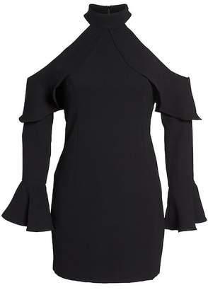 Bardot Nightshade Cold Shoulder Sheath Dress