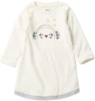 Petit Lem Fleece Penguin Nightgown (Toddler & Little Girls)
