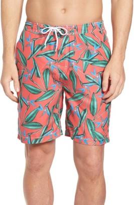Men's Trunks Surf & Swim Co. Swami Birds Of Paradise Print Board Shorts $54 thestylecure.com