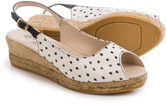 Eric Michael Kate Wedge Sandals - Leather (For Women) $34.99 thestylecure.com