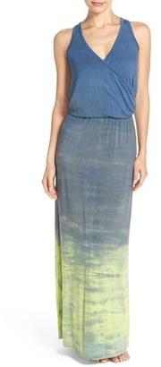 Women's Hard Tail Tie Dye Jersey Maxi Dress $135 thestylecure.com