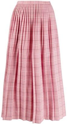 Marni checkered skirt