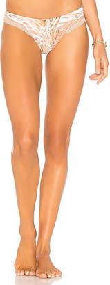 Luli Fama Mesh Brazilian Bikini Bottom