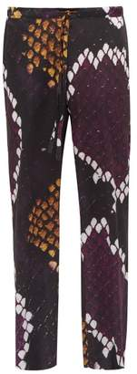 Marques Almeida Marques'almeida - Python Print Satin Trousers - Mens - Multi