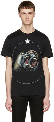 Givenchy Black Monkey Brothers T-Shirt $550 thestylecure.com