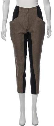 Zero Maria Cornejo Mid-Rise Cropped Pants