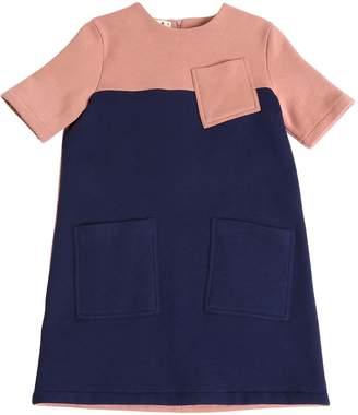 Two-Tone Cotton Dress