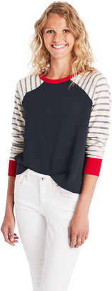 Vineyard Vines Color Blocked Crewneck Sweatshirt