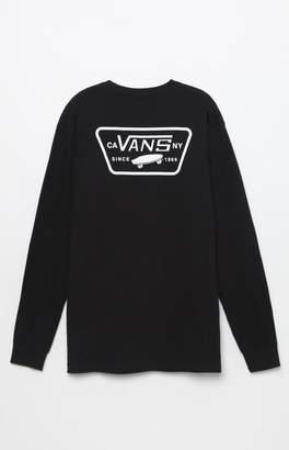 Vans Full Patch Long Sleeve Black T-Shirt