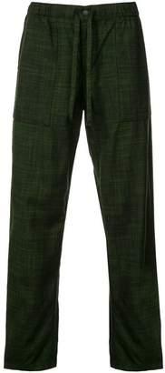 Issey Miyake drawstring waist trousers