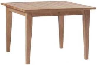 Farm Square Teak Dining Table - Natural - SUMMER CLASSICS INC
