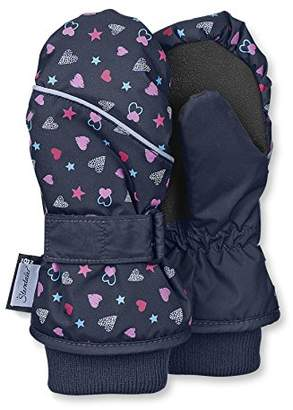 Sterntaler Mittens for Children, Waterproof and reflective, Age: 7-8 Years, Size: 5, Navy