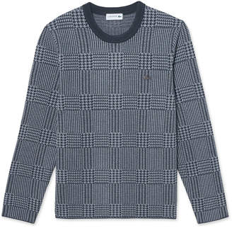 Lacoste (ラコステ) - クルーネックジャガードセーター