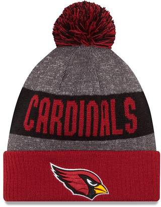 New Era Arizona Cardinals 2016 NFL Sideline On Field Sport Knit Hat - Red Cuff
