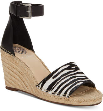 Vince Camuto Leera Espadrille Wedge Sandals Women Shoes