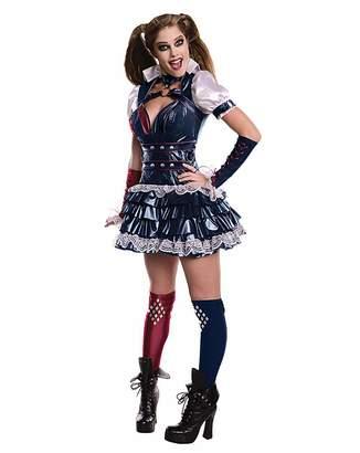Batman Adult Ladies Arkham Harley Quinn Costume