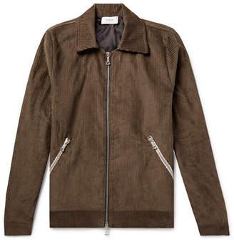 Rhude Embroidered Cotton-Corduroy Jacket