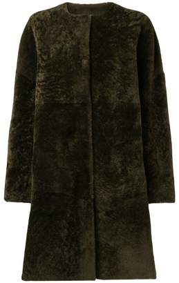 P.A.R.O.S.H. reversible shearling coat