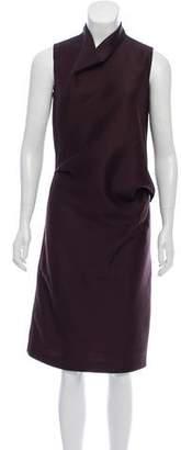 Calvin Klein Collection Wool Midi Dress