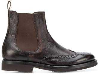 Henderson Baracco brogue chelsea boots
