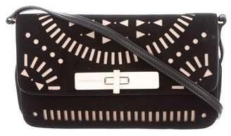 Tamara Mellon Suede Crossbody Bag