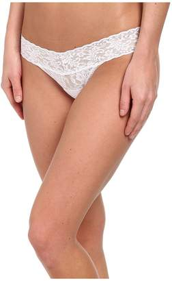 Hanky Panky Petite Signature Lace Low Rise Thong Women's Underwear