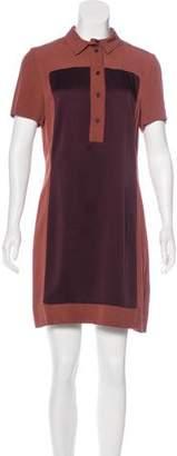 Victoria Beckham Victoria, Colorblock Mini Shirtdress