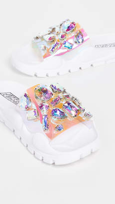 Jeffrey Campbell Aspic Jewel Slides