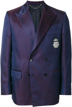 Billionaire jacquard blazer