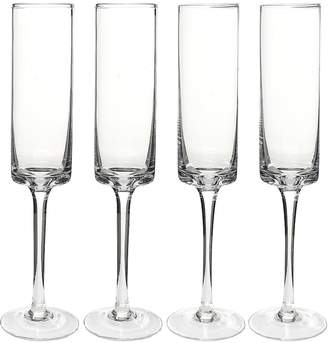 Cathy's Concepts Cathys Concepts 4-pc. Contemporary Champagne Flute Set