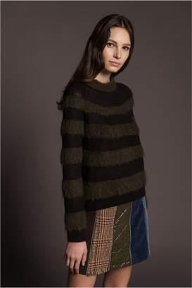 Sonia Rykiel Mohair Knit Long-Sleeved Jumper