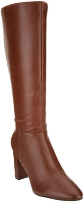 Marc Fisher Leather Tall Shaft Boots - Zimra