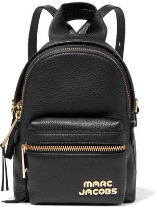Marc Jacobs Micro Leather Backpack - Black