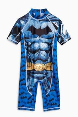0ece62a8c4a55 Next Boys Batman Sunsafe Swimsuit (3mths-8yrs)