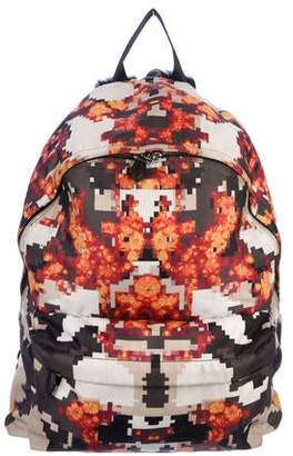 d93802530970 Givenchy Printed Leather-Trimmed Backpack